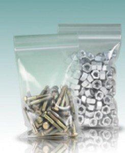 Пакеты с застежкой zip-lock (гриппер)Повышенной прочности 12x17см 60мкм (упак/100шт)