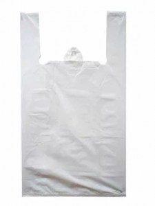 Пакет-майка 45х75(15мкм) Белая (упак/50шт)