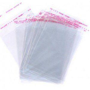 Пакеты с клеевым клапаном (со скотч-клапаном) 10х15+5 дышащий (упак/100шт)