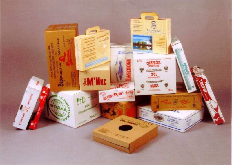 печать на коробках