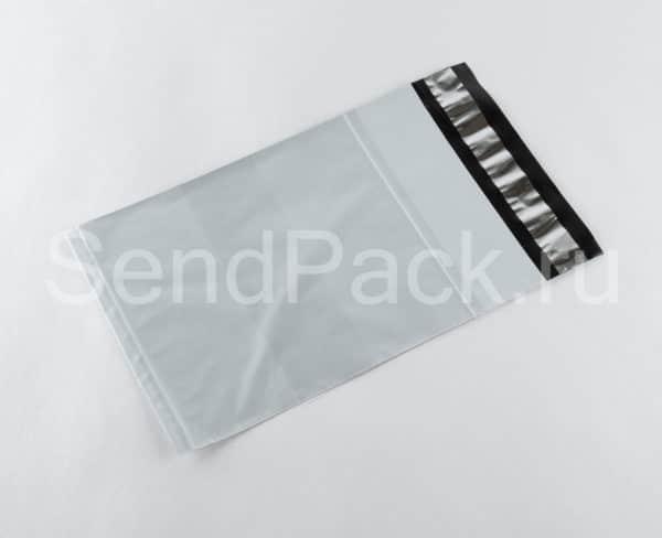 Курьерский пакет с карманом белый 600×600мм