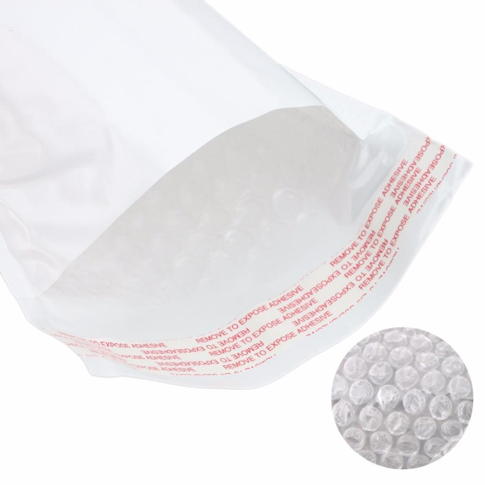 белый пакет с воздушной подушкой