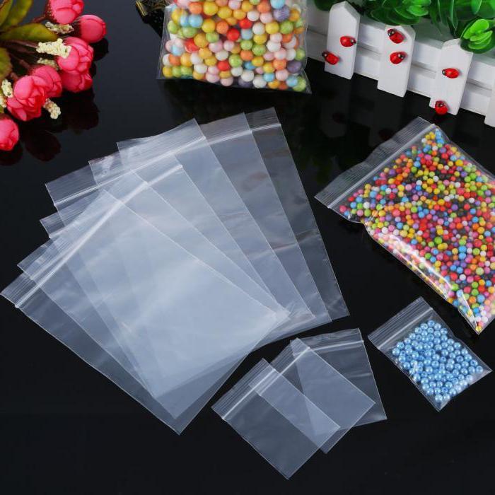 Пакеты зип-лок с бисером